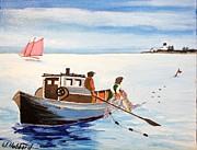 Bill Hubbard - Gillnetter off Beaver Island- Michigan