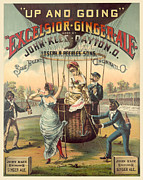 Antique Digital Art Prints - Ginger Ale Poster Print by Gary Grayson