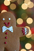 Christmas Lights Photos - Ginger-Bokeh by Amy Cicconi