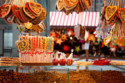 Market Art - Gingerbread and candies by Jane Rix