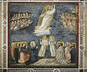Frescoes Prints - Giotto Di Bondone 1267-1337. Scenes Print by Everett