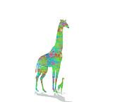 Trilby Cole - Giraffe and Her Treasure