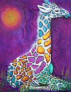 Laura Barbosa - Giraffe of Many Colors