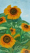 Yesi Casanova - Girasoles Sunflowers