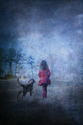 Stephanie Frey - Girl and Her Dog