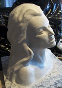 Montana Sculptures - Girl by Clay Workman