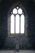 Religious Photo Prints - Girl In Chapel Print by Joana Kruse