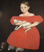 Ammi Phillips - Girl In Red with Cat and...