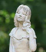 Cynthia Snyder - Girl in the Garden Statue