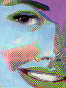 Beautiful Eyes Mixed Media Posters - Girl Poster by Tony Rubino