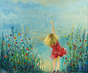 Gabriela Simonovski - Girl With Bubbles