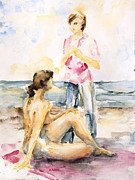 Barbara Pommerenke - Girlfriends At The Beach