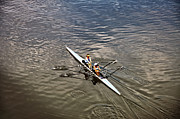 Rower Prints - Girls Crew Print by Bill Cannon