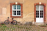 Red Farmhouse Prints - Gitane Print by Olivier Le Queinec