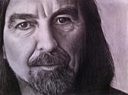 George Harrison Art - Give Me Hope by Beth Beam