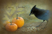 Thanks Prints - Giving Thanks Print by Angie Vogel