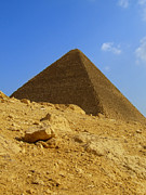 Egyptian Mummy Prints - Giza Pyramid 01 Print by Antony McAulay