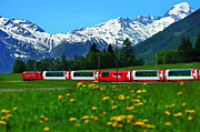 First-class Originals - Glacier Express Switzerland to France by Brian Joseph