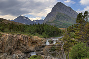Montana Photos - Glacier National Park Landscape by Alan Toepfer