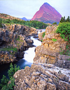 Many Glacier Prints - Glacier National Park Print by Ray Mathis