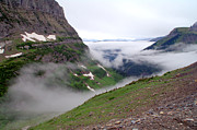 West Glacier Photos - Glacier Park Fog by Brian Harig