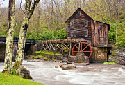 Grist Mill Art - Glade Creek by Marcia Colelli