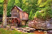 Glade Creek Mill  Print by Gregory Ballos