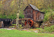 Grist Mill Art - Glade Creek Mill by Marcia Colelli