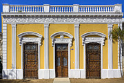 Elaborate Prints - Glamorous Architecture on Paseo de Montejo Print by Mark Tisdale