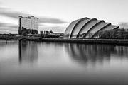River Clyde Glasgow Framed Prints - Glasgow Armadillo Framed Print by John Farnan