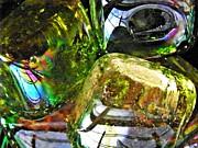 Glass Abstract 119 Print by Sarah Loft