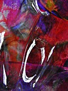Glass Abstract 189 Print by Sarah Loft
