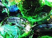 Avant Garde Photos - Glass Abstract 24 by Sarah Loft