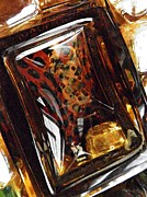 Distortion Prints - Glass Abstract 326 Print by Sarah Loft