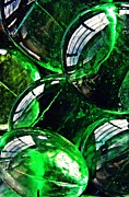 Glass Abstract 48 Print by Sarah Loft