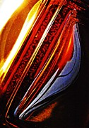 Distortion Photo Framed Prints - Glass Abstract 711 Framed Print by Sarah Loft