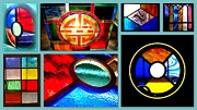 Canada Glass Art - Glass Art by VicTOr Fraser by The Creative Minds Art and Photography