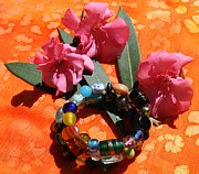 Featured Jewelry - Glass Beads Bracelet by Monica Art-Shack