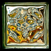 Dee Dee  Whittle - Glass Block Abstract 1