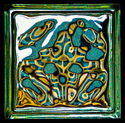 Dee Dee  Whittle - Glass Block Abstract 3
