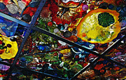 Glass Ceiling Abstract Print by Valerie Garner