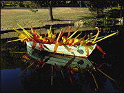 Cheekwood Art - Glass-filled Boat by Kae Cheatham