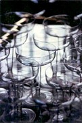 Champagne Glasses Photos - Glass Fusion by Michael Hoard