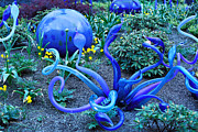 Cheryl Young Metal Prints - Glass Garden 5 Metal Print by Cheryl Young