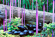 Cheryl Young Metal Prints - Glass Garden 6 Metal Print by Cheryl Young