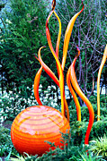 Cheryl Young Metal Prints - Glass Garden 8 Metal Print by Cheryl Young