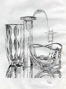 Glass Drawings - Glass by Jason Folstad