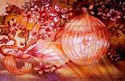 Cherry Blossoms Pastels Prints - Glass Onion  Print by Gary Renegar