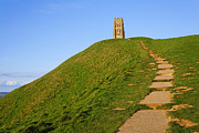 Tor Photo Posters - Glastonbury Tor Poster by Robert Preston