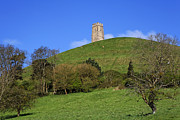 Tor Photo Framed Prints - Glastonbury Tor Somerset England Framed Print by Robert Preston